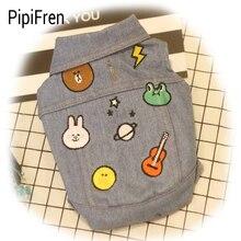 PipiFren Dogs Clothes Stripe Hamburger For Small Pets Costume Coat Cats T Shirts Yorkies Jacket Ropa para perros honden jasjes