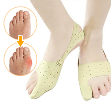 Toe Separator Hallux Valgus Bunion Corrector Orthotics Feet Bone Thumb Adjuster Correction Pedicure Sock Straightener foot hallux valgus correct correction big toe bunion separator corrector orthotics toe separator bandage cover cocks bunion pads