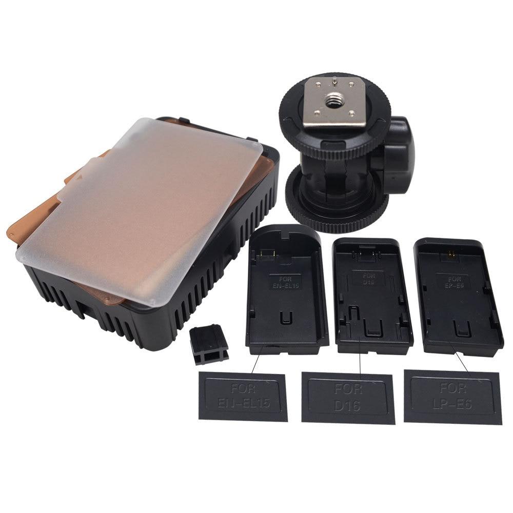 Mcoplus 198 LED Video Photo Light Lámpara de iluminación para - Cámara y foto - foto 6