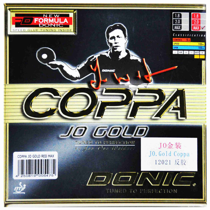 DONIC Table Tennis Rubber COPPA JO COLD Pimples In With Sponge Ping Pong Tenis De Mesa