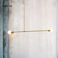 DIY Hanging Modern Led Pendant Lights For Dining Room Bar Suspension Luminaire Suspendu Pendant Lamp Lighting