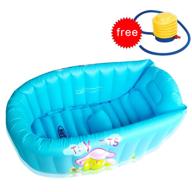 Nueva Inflable Bebé Tub/Soft Inflable Bebé Bañera/Eco-friendly Piscina Portable