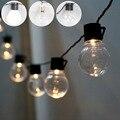 20 LEVOU Globo claro Conectável Festão Partido Bola luz fada string led das Luzes de Natal do casamento do jardim ao ar livre pingente guirlanda