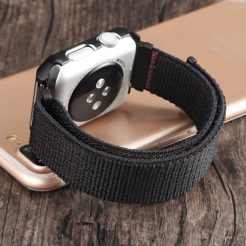 ASHEI Sport Watch Strap For Apple Watch Band 42mm Series 3 2 1 Nylon Loop With protector Case Watchbands For Iwatch Straps 38mm massager ergonomic design body self back hook massage stick muscle deep pressure original point body relaxation hot new page 9