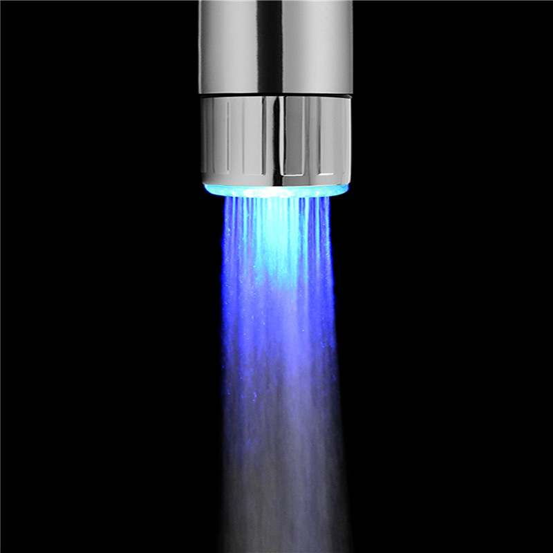 Fashion RC F04 LED Water Faucet Stream Light Colorful Changing Glow ...
