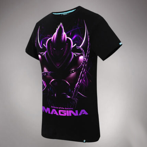 Cool 3D Magina T-shirt Cool DOTA 2 Anti Mage Tees For Doters