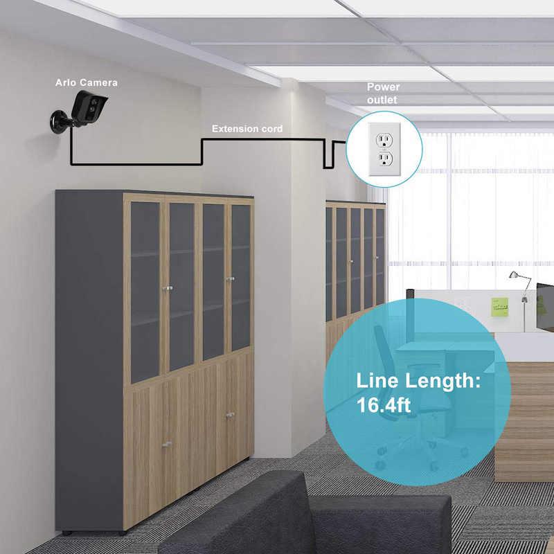 Outdoor Camera Verlengsnoer Dc Power Extension Cable Man Vrouw Cord Voor Router En Led Strip Elektrische Apparatuur