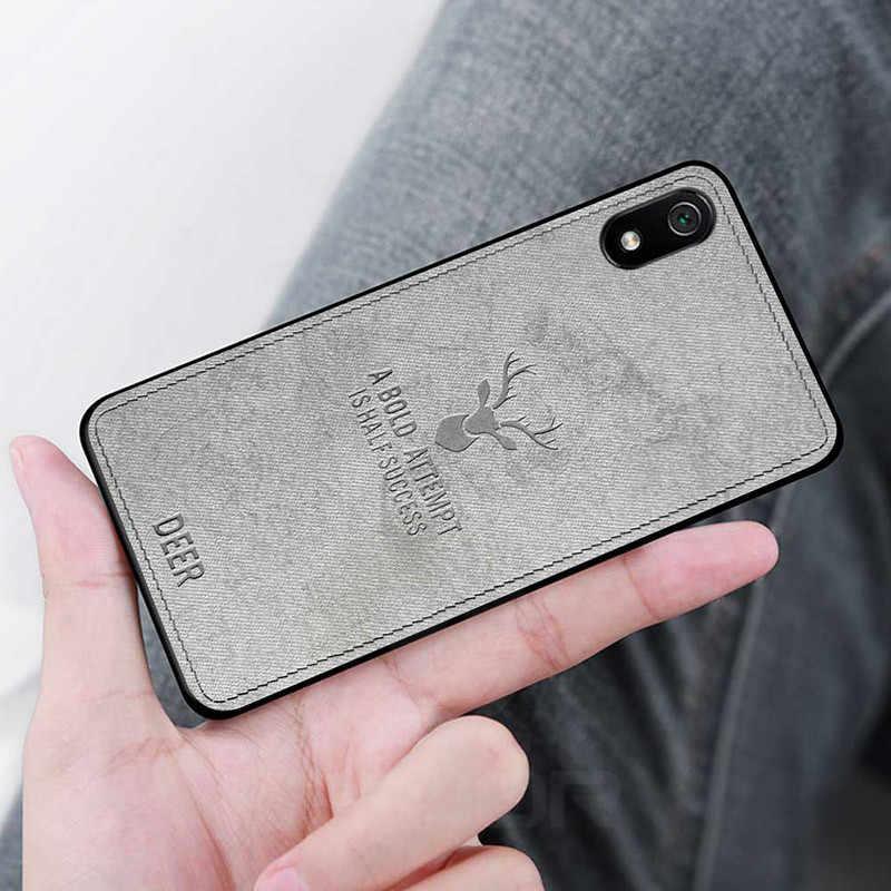 Чехол Keajor для Xiaomi redmi 7a, тканевый Силиконовый противоударный бампер, защитная задняя крышка для Xiaomi redmi 7 redmi 7a