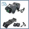Двойной Зарядки Док-Станция Зарядное Устройство с 2 Аккумуляторные Батареи Быстрой Зарядки для Xbox One/Xbox One S/Elite Беспроводной Контроллер