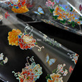Fashion design nail transfer foil transfer film nail stickers China is rich peony flower GL115