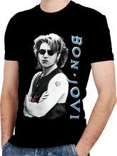 ccc6cdcf925 BON JOVI Black New T-shirt Rock T Shirt Rock Band Tee Summer Style Top Tee