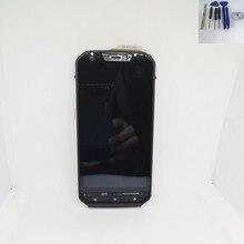 4.7 מקורי שחור עבור קטרפילר חתול S60 מלא LCD תצוגה עם מסגרת + מסך מגע Digitizer עצרת + כלים