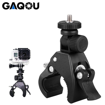 Fietsstuur Houder Snelle Clip Release Motor Bike Roll Bar Handbar Tripod Mount Houder Voor Gopro Hero 7 6 5 4 Actie Camera