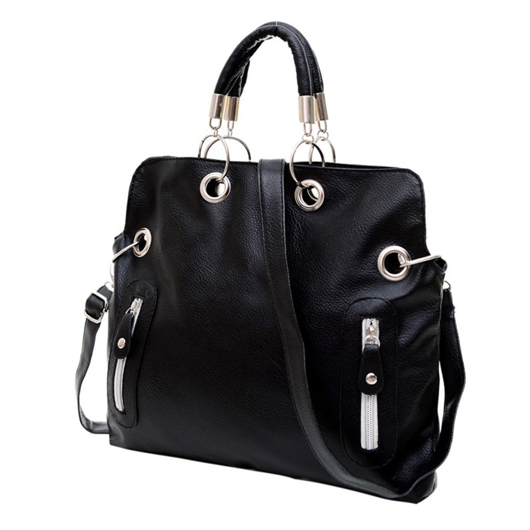 fdb40dd3d3cb Nuevo 2014 de cuero de las mujeres la vendimia Bolsos de hombro mensajero  bolso de mano femenino sv03