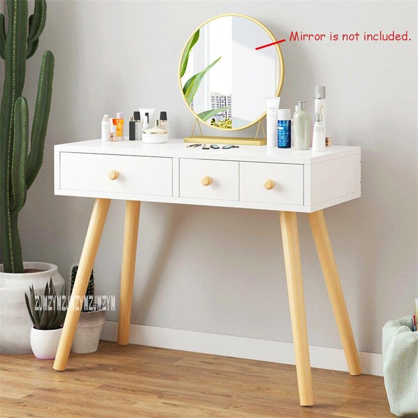 B2507 мебель для спальни современный комод ручной работы доска твердой древесины ноги туалетный столик креативный туалетный столик с ящиком