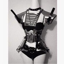 Новый Дизайн модная одежда для девочек пикантные Бальные комбинезон костюмы бар КТВ сцены Костюмы вечерние поставки