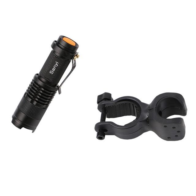 Mini Waterproof LED Flashlight Torch