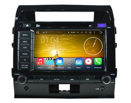 32GB ROM 8 octa core android 6.0 for toyota Land Cruiser 200 LC200 landcruiser Car DVD Player RADIO GPS head units tape recorder
