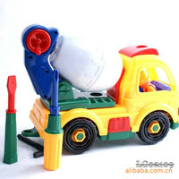 2016 Sale Brinquedos Real Wooden Toys Plastic Model Kits Playmobil 2109 Disassembly Truck 3 Children Assembled Educational 474