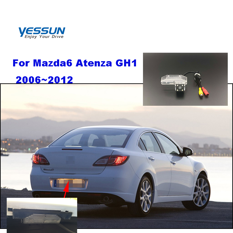 Yessun License palte camera For Mazda6 Atenza GH1 2006~2012 Rear View camera Parking Assistance(China)