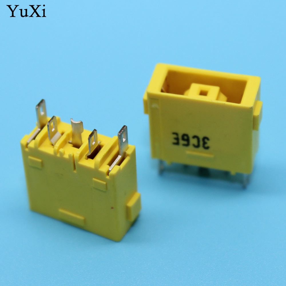 YuXi 5-100 pcs NEW DC Power Jack Connector for LENOVO G700 G710 S500 S500T Z710 FLEX 14 FLEX 15 DC JACK Square mouth power dc in jack dc power jack connector for lenovo 80a for asus n73j n73jf n73jg n73jn n73jq n73sv dc jack