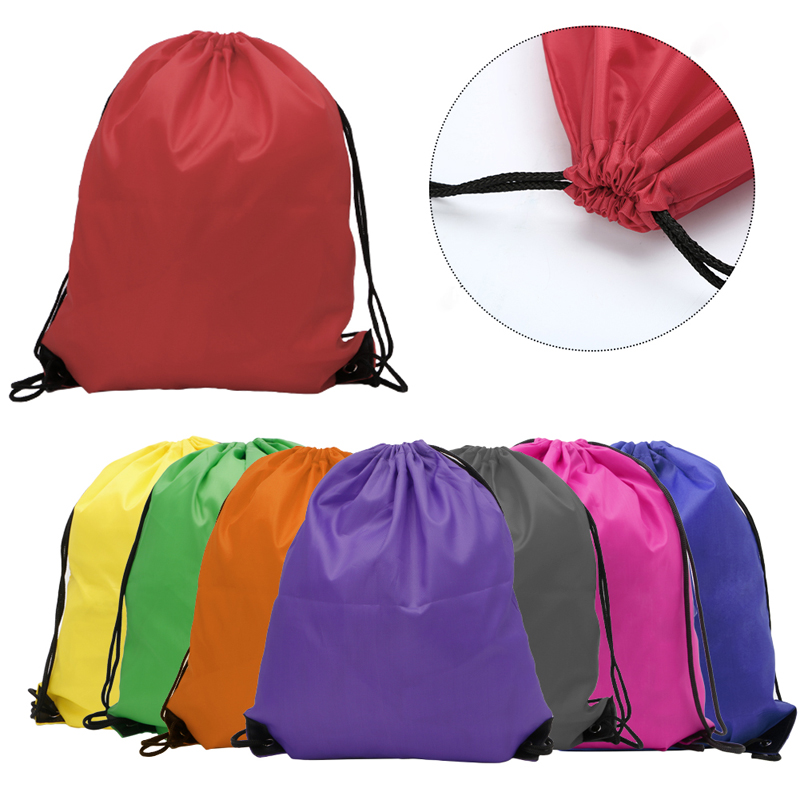 1Pc Hiking Backpacks Kids  Clothes Shoes Backpack Swimwear Bag School  Drawstring Book Sport Gym Lunch bag and More-in Climbing Bags from Sports  ... 33db6084c31e6