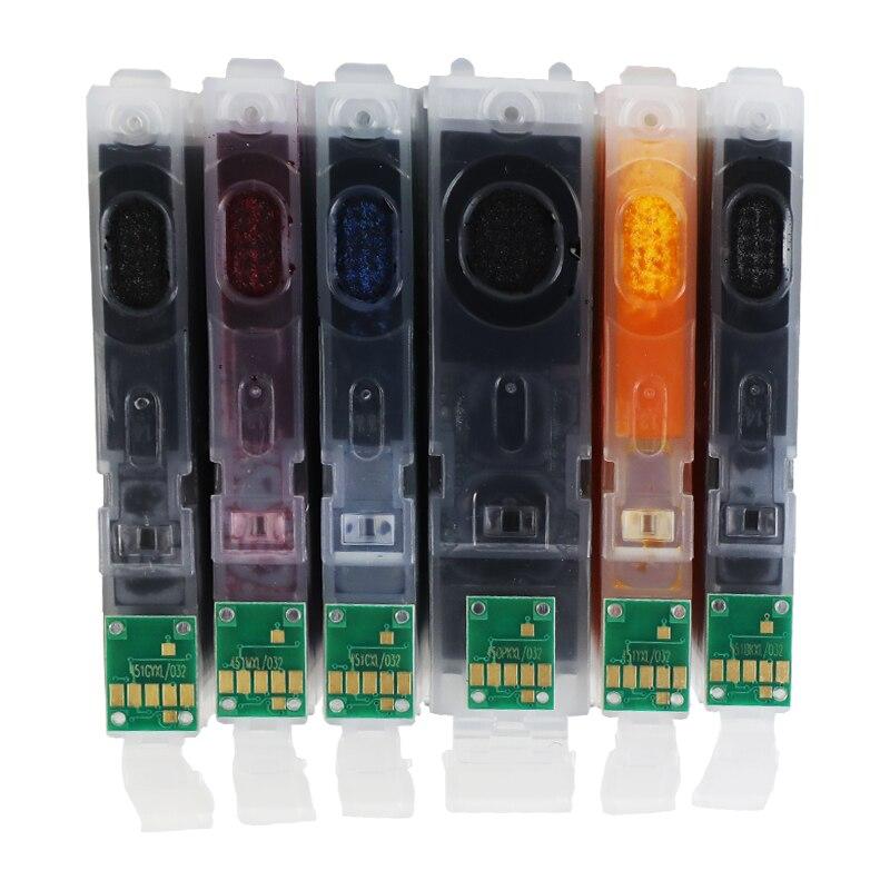 Замена картриджа befon для Canon PGI550 CLI551 PGI 550 CLI 551 PGI-550 CLI-551 XL чернильный картридж для PIXMA IP7250 MG5450