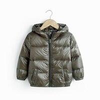 겨울 긴 소매 코트 2-8Y 아기 아이 소년 소녀 따뜻한 까마
