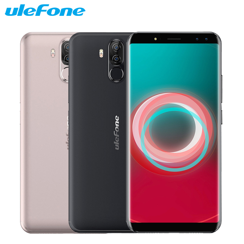 "Original Ulefone Power 3S Cell Phone 6.0"" 18:9 Display 4GB RAM 64GB ROM MTK6763 Octa Core Android 7.1 6350mAh Face ID Smartpone"