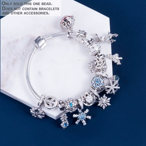 Image 5 - Video! Christmas Bells Genuine 925 Sterling Silver Charm Beads Fit Original Bracelet Necklace Authentic Jewelry DDBJ110