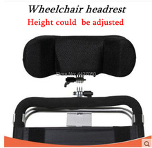 2019 manual power good quality electric wheelchair pillow headrest