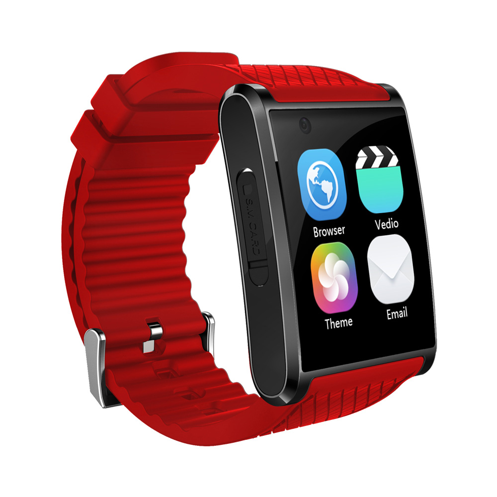 Android 5.1 Smartwatch Bluetooth 4.0 Watch Phone 3G GPS Smart Watch Support Simcard Camera With 512MB+4GB MTK6580 Pedometer WIFI