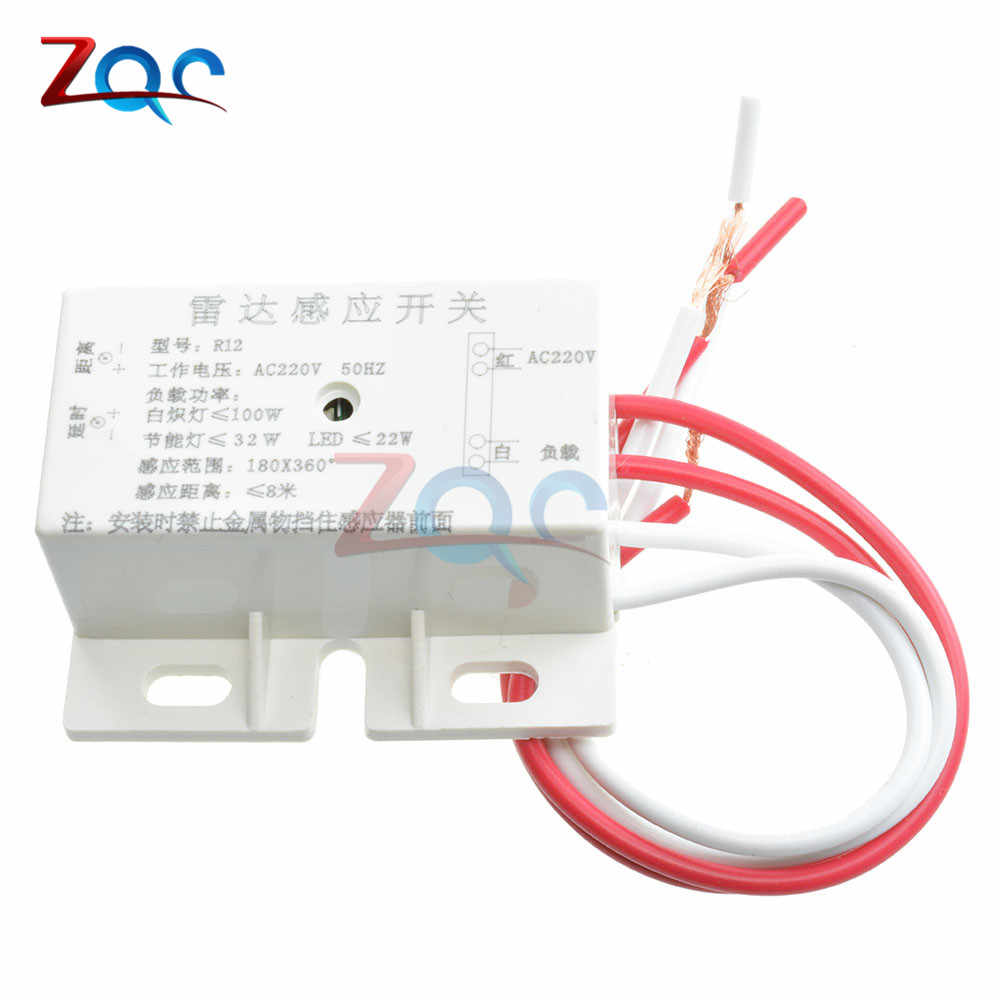 Detail Feedback Questions About 220v Auto Infrared Body Motion Sensor Light Switch Wiring Diagram Small Pir Sensing Microwave Radar