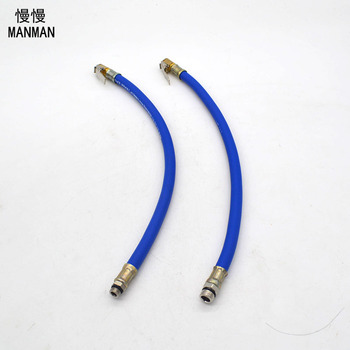 The tyre table connection pipe pneumatic air mouth clamp Pneumatic gun nozzle head trachea Inflatable table pipe comparison of smoking trachea and normal trachea gasencx 0058