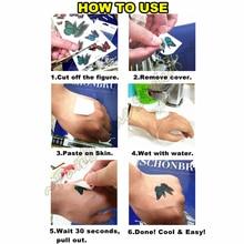 Y-XLWN St. Sword Dragon Pattern Men's Creative Sticker Ms. Temporary Tattoo Disposable Waterproof Tattoo Sticker Wall Sticker