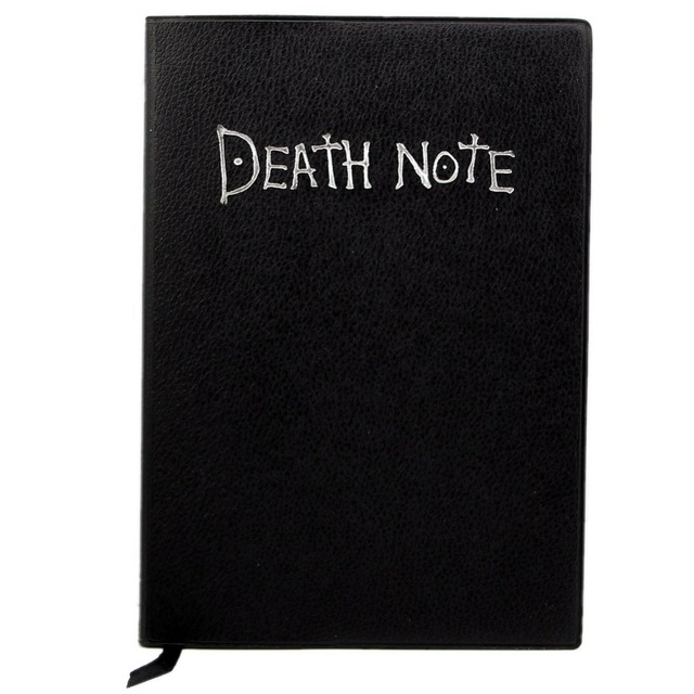 Death Note Cosplay Notebook New School Large Writing Journal