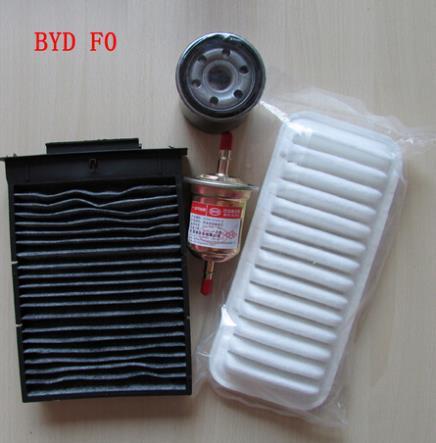 BYD F0 filtro de aire acondicionado filtro gasolina filtro de aceite cuatro  filtros envío libre 7eef0efca5