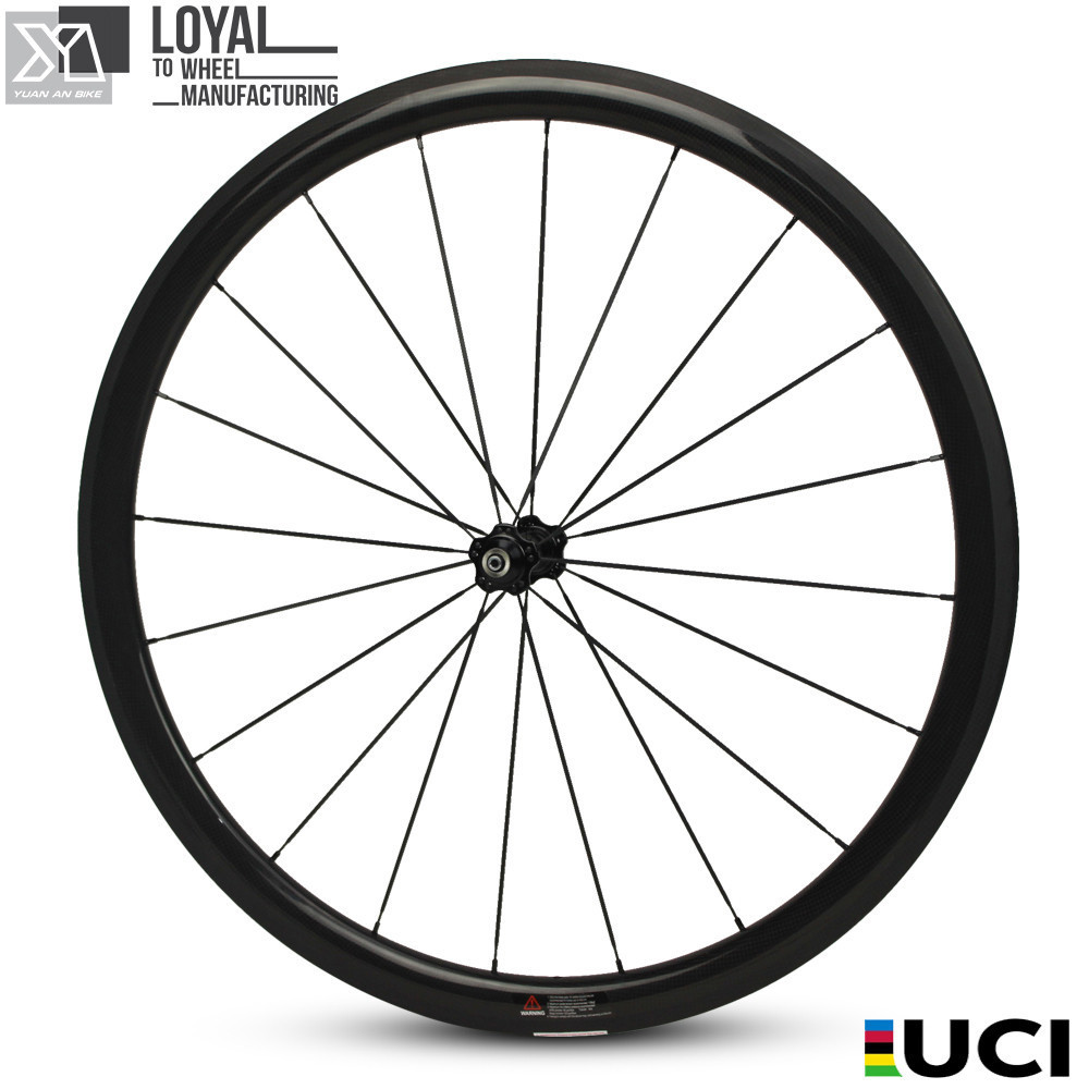 700c Carbon Bike Bicycle Wheel  38mm  Depth 25mm Width U-Shape Aero Road Wheelset Clincher With Sapim CX Ray Spokes west biking bike chain wheel 39 53t bicycle crank 170 175mm fit speed 9 mtb road bike cycling bicycle crank