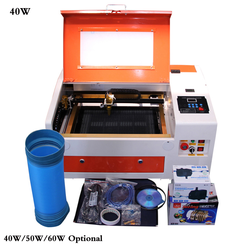 Co2 laser engraving machine cutter machine CNC laser engraver,DIY laser marking machine,carving machine 40W/50W/60W OptionalCo2 laser engraving machine cutter machine CNC laser engraver,DIY laser marking machine,carving machine 40W/50W/60W Optional