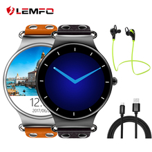 New! LEMFO LEF1 MTK6580 Smart watch Support Nano SIM card Support GPS/ WIFI Weather Heart Rate And Pedometer
