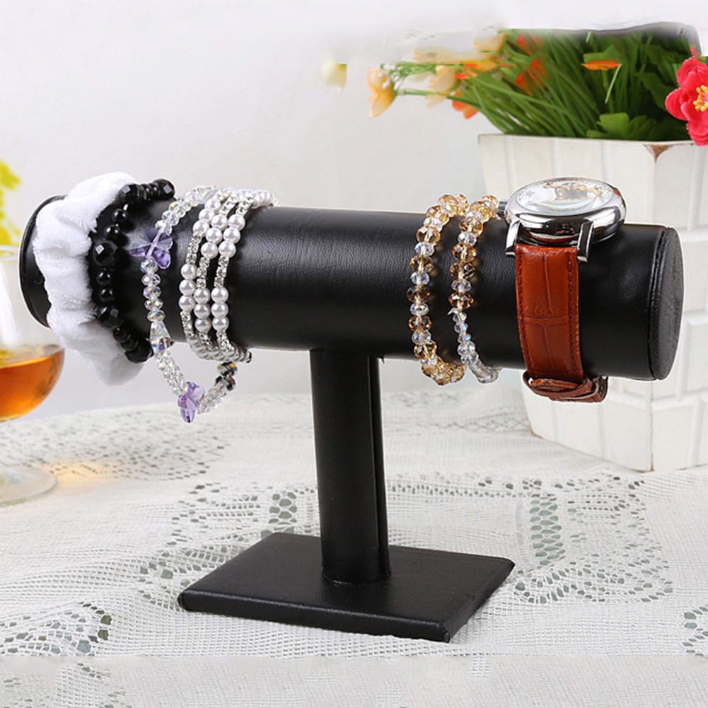 Brand New Flannelette Cloth Ornaments Showing Stand Single Layer Bracelet Hair Band Showing Holder