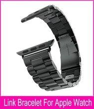 Calidad superior de acero inoxidable 316L enlace pulsera para Apple venda de reloj 42 mm 38 mm espacio gris plata oro correas de reloj para Iwatch correa