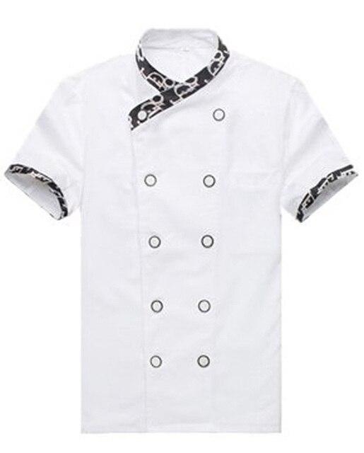 8 Color 2016 Summer Short Sleeve Sushi Chef Uniform Jacket Japanese Restaurant Uniforms Coat