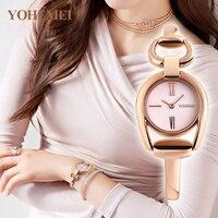 YOHEMEI Women S Bracelet Watches Women Quartz Watch Relojes Reloj Mujer Montre Femme Relogio Feminino Brand
