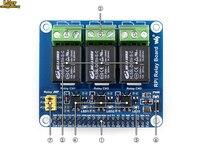 כוח ממסר לוח פטל Pi הרחבת לוח  עבור פטל Pi +/B +/2B/3B/3B + עבור בית אוטומציה חכם