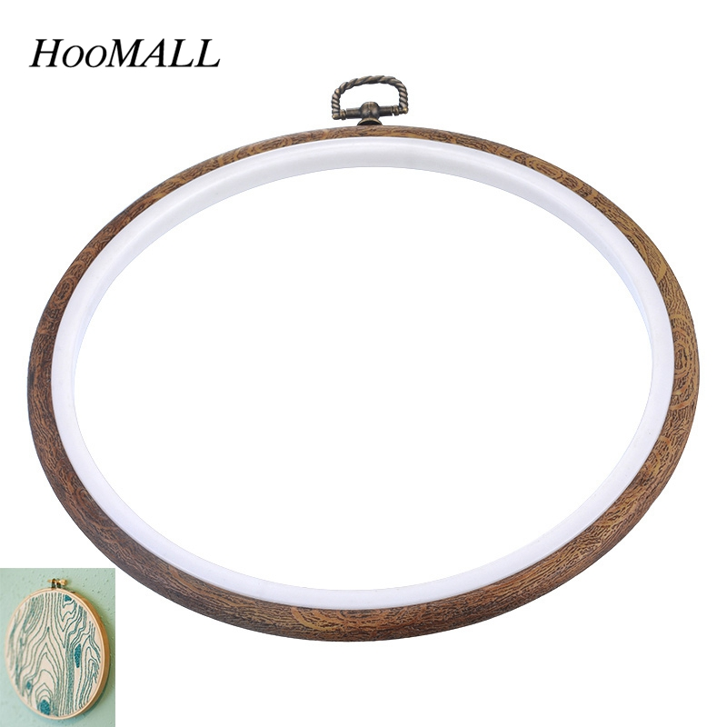 Hoomall brand sewing tool vintage wood grain embroidery
