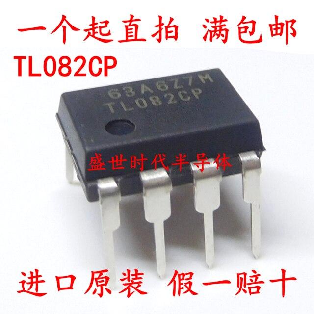 10pcs/lot TL082CP TL082 TL082CN OPAMP JFET 4MHZ DIP-8 IC In Stock