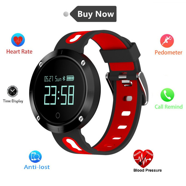 Smart Bracelet IP67 Waterproof Blood Pressure Heart Rate Monitor Call Reminder Sports Smart Band Blood Pressure Lovers Watch