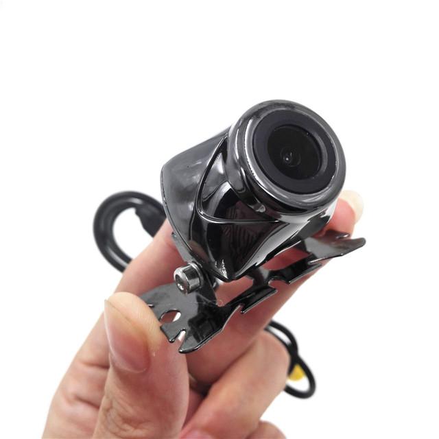 Boa Qualidade de 150 Graus de Ângulo de Visão Noturna LED Color Sensor CMOS Câmera para Estacionamento Monitor de Retrovisor Do Carro Vista Reverso 620L