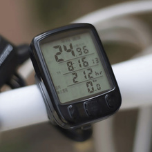 Высокое качество водонепроницаемый Зеленый Подсветка ЖК-дисплей экран Дорога MTB велосипед велосипедный компьютер Спидометр проводной хронометр